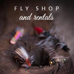 Missouri River fly fishing shop
