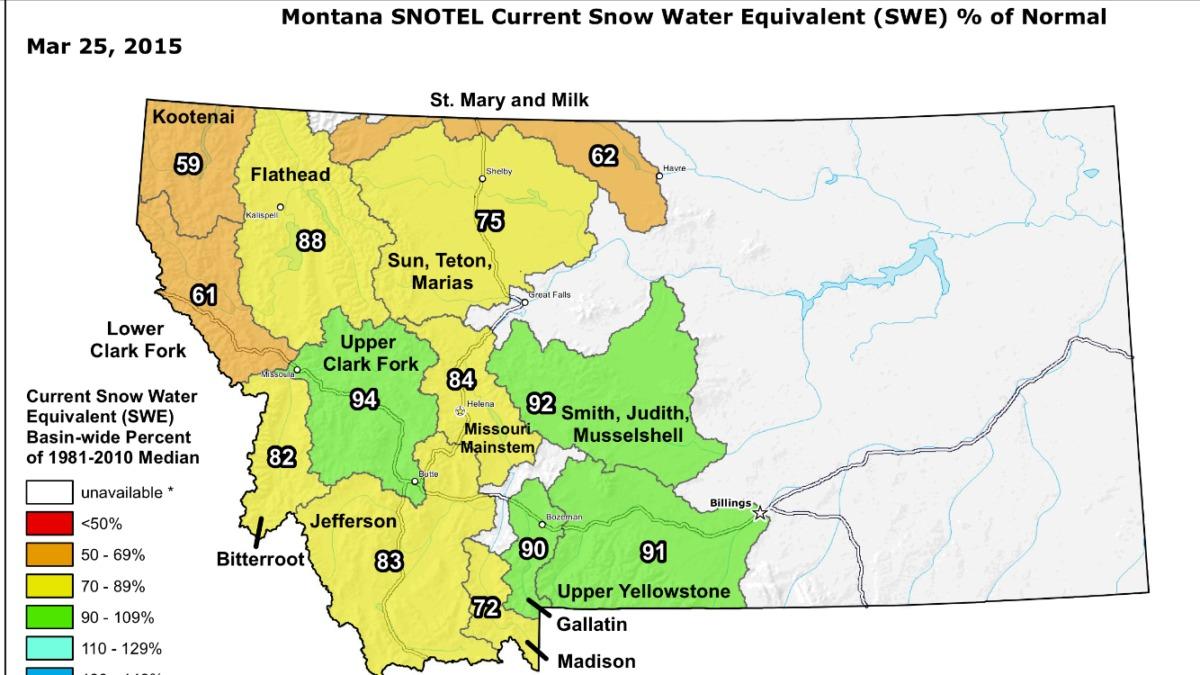 Snotel Montana Map.Snotel Wolf Creek Angler