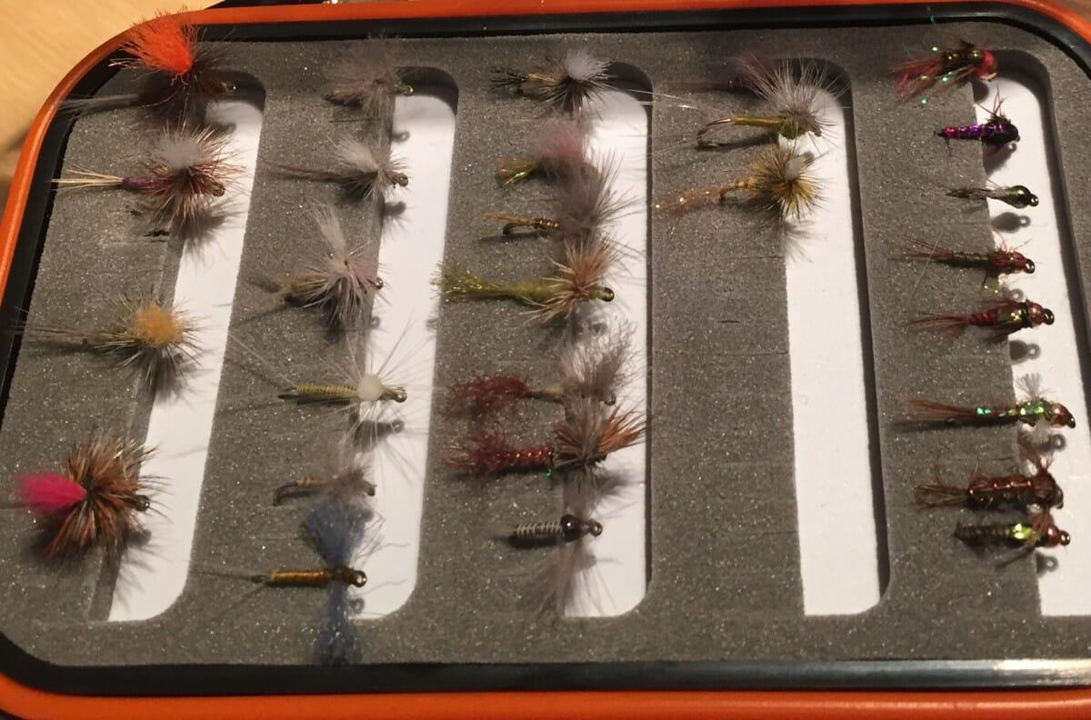 1 Dozen BH Lightning Bug Kelly Green Wet Fly Trout