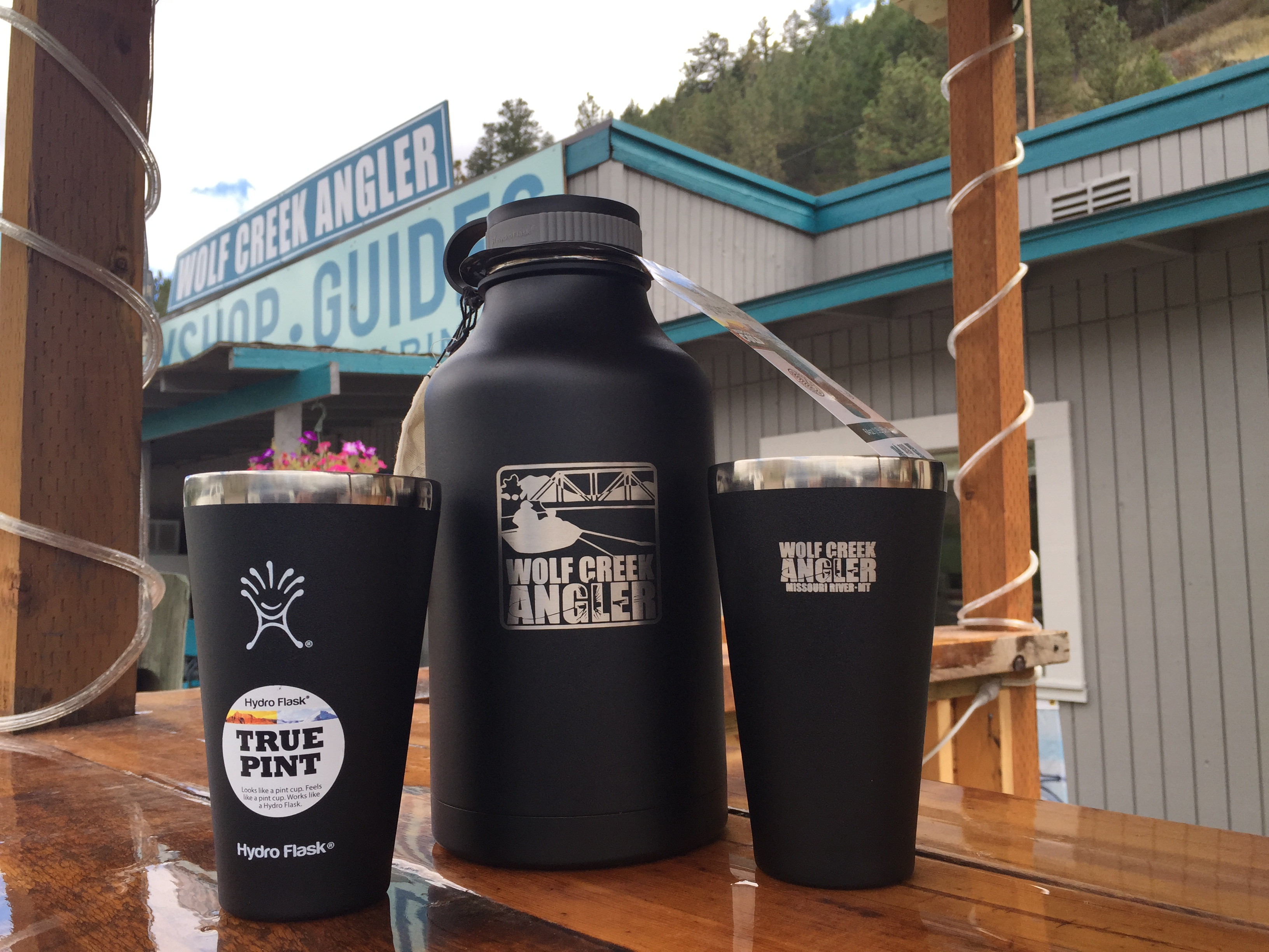 Hydro Flask WCA growler and True Pint glasses could be yours.