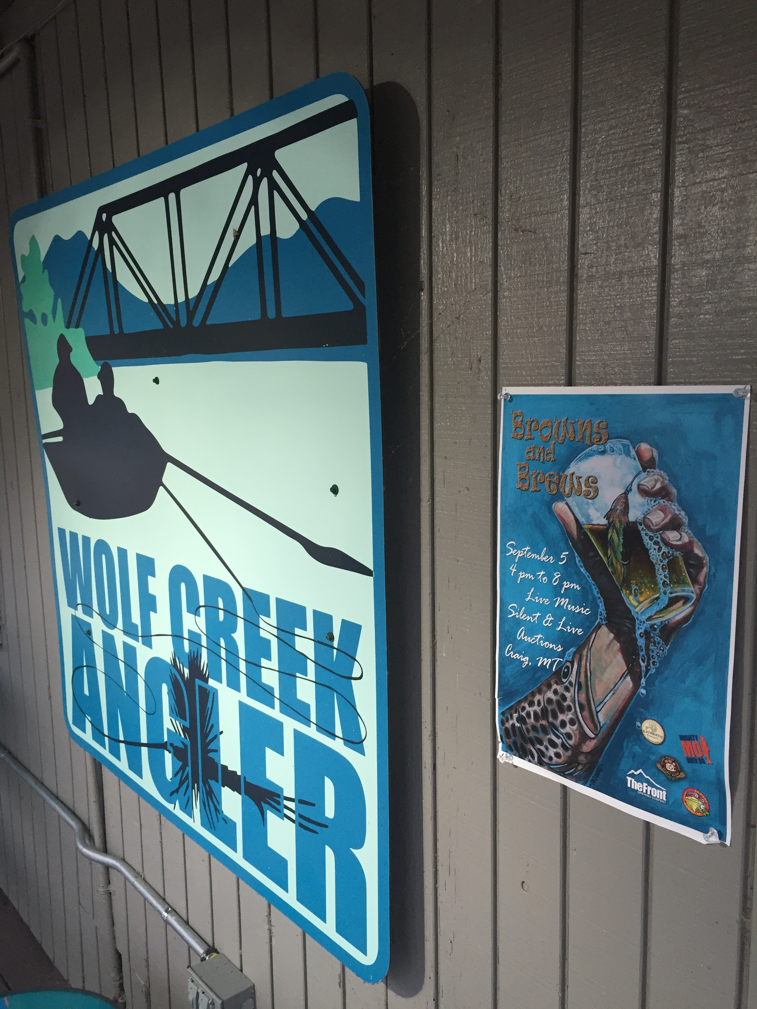 Spend your Labor Day Weekend at Wolf Creek Angler