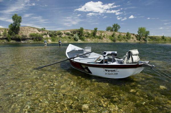 Win a hyde drift boat wolf creek angler for Drift boat fishing